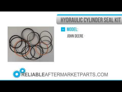 AH212103 Bucket Tilt Angle Cylinder Seal Kit Fits John Deere 444H 444J-624J 850J