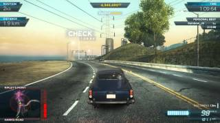 Aston Martin DB5 in Licence to Thrill (Need for Speed: Most Wanted (2012) Movie Legends DLC)