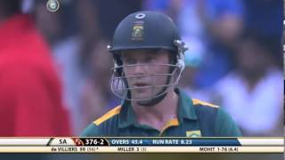 The incredible man A B DEVILLIERs again created  history scored 119 runs of 61 balls against India