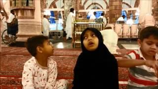 Cute Salawat Majlis Holy Kaba, Makkah-Shade of Rahma, Global Salawat Program - 1434 Rabi-ul-Awwal
