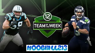 Madden Mobile 16 Team of The Week Players  (Week 12)