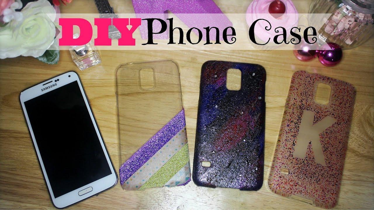 Diy Phone Case Using Washi Tapes Nail Polish And Color