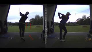 Stop FLICKING the wrists at impact - Golf Lesson - With Peter Finch