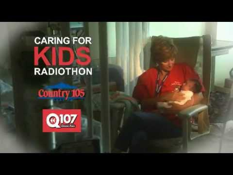 The Country 105 and Q107 Caring for Kids Radiothon is on next week!