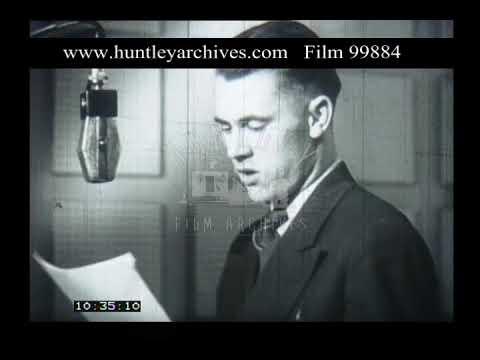 Radio Station, 1950s - Film 99884
