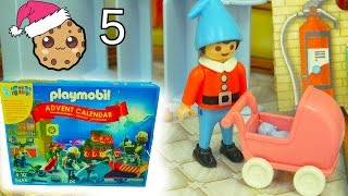 Playmobil Holiday Christmas Advent Calendar - Toy Surprise Blind Bags  Day 5