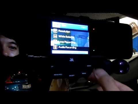 Falcon Zero F360+ Dual Dash Camera Review