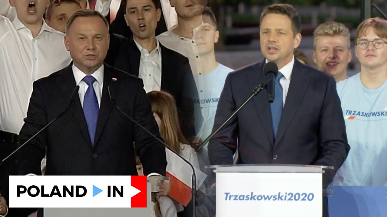 FIRST REACTIONS in CANDIDATES HEADQUARTERS' after EXIT POLL RESULT – Poland In