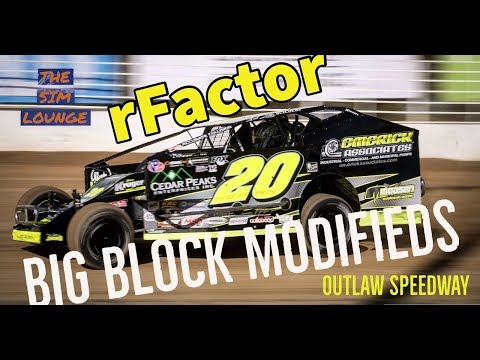 I have always wanted to race a big block modified, today I got the chance to do so. RFactor gave me that chance at outlaw speedway. What a blast these cars ... - dirt track racing video image