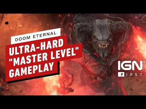 DOOM Eternal: 9 Minutes Of Master Level Gameplay (4K 60FPS) - IGN First