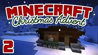 Minecraft Advent - Day 2 | HOME SWEET HOME | A Minecraft Let