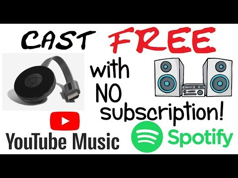 Cast FREE Spotify & YouTube Music Directly To Amplifier (bypassing TV)
