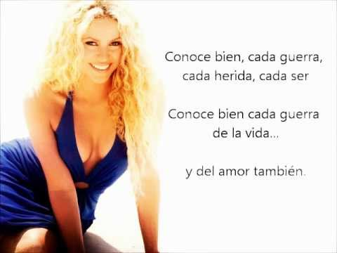 [Lyrics] Shakira - La quiero a morir