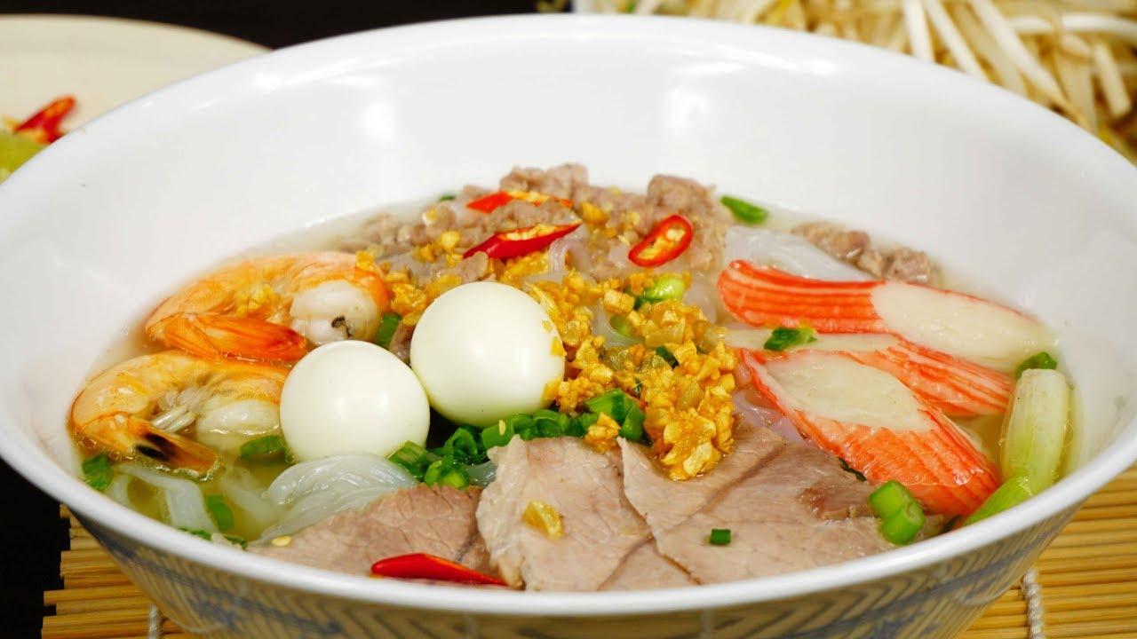 Hủ tiếu Nam Vang- món ăn được người Sài Gòn yêu thích