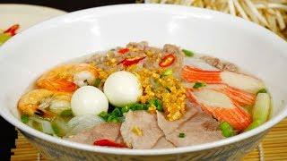 Cách nấu Hủ Tiếu Nam Vang hương vị đậm đà thơm ngon