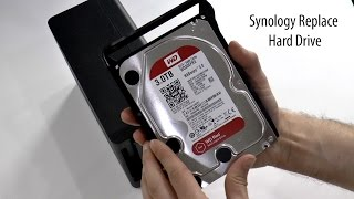 Synology Hard Drive Replacement to a bigger one