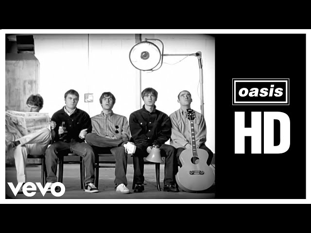 Oasis - Wonderwall (Official HD Remastered Video)