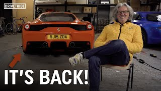 What happened to James May's Ferrari 458 Speciale?