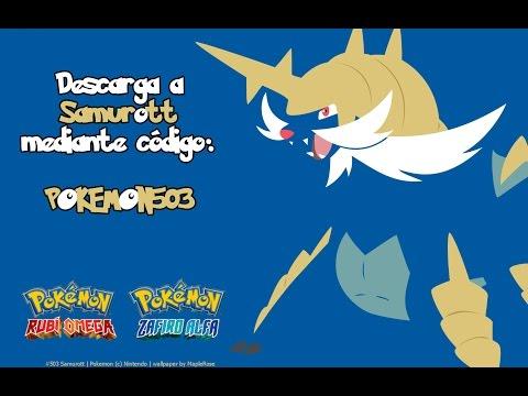 ¡Consigue a Samurott por código! - Pokémon RO/ZA