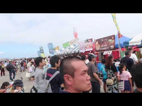 日米友好祭・横田基地 美味しい食べ物に人々が 2019年9月15日(日)