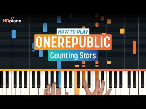 """Counting Stars"" by OneRepublic   HDpiano (Part 1)"