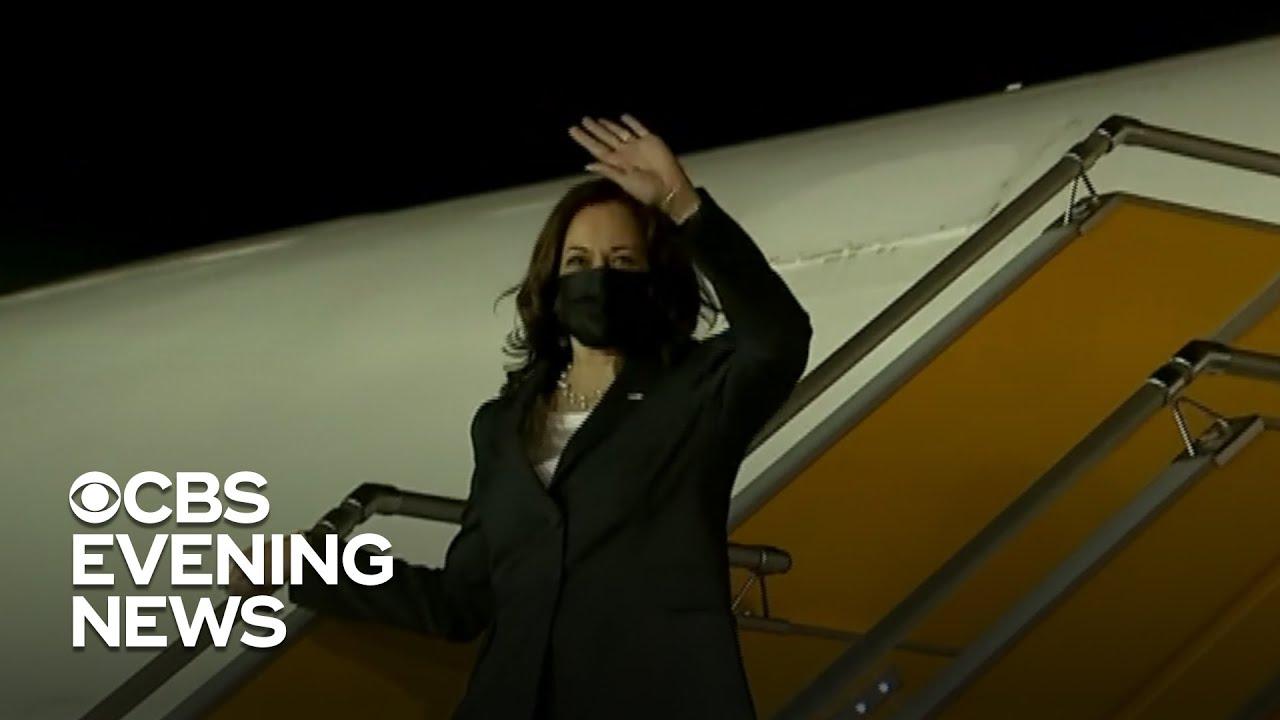 Kamala Harris' Vietnam trip delayed over possible case of ...