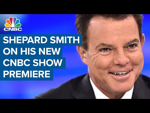 Shepard Smith on his success: 'I never said no. Not to one assignment'
