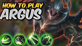 Mobile Legends In-Depth Guide: Argus Tips & Tricks