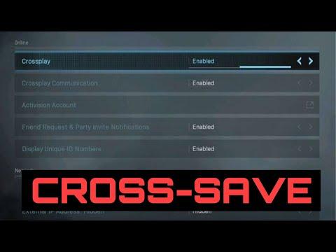 How to Cross-Save/Cross Progression In Call Of Duty Modern Warfare!
