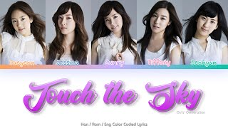 Girls' Generation (소녀시대) Touch the Sky (Original Ver.) Color…