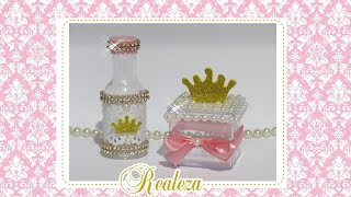 DIY: Lembrancinhas tema coroa/Princesa