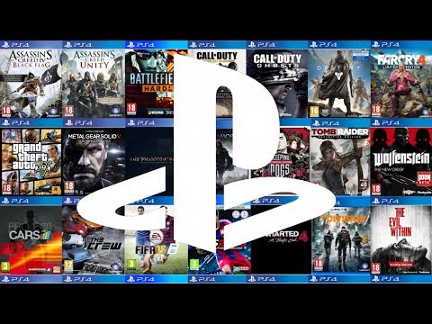 100 Ps4 Games In 15 Minutes Youtube