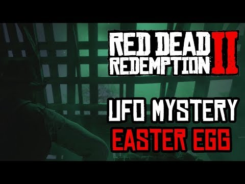 ► Red Dead Redemption 2: Scary Alien UFO Mystery Easter Egg (RDR2) ◄ thumbnail