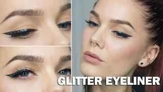 Glitter Eyeliner (with subs) - Linda Hallberg Makeup Tutorials Thumbnail