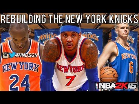 NBA 2K16 MyLEAGUE: Rebuilding the New York Knicks!