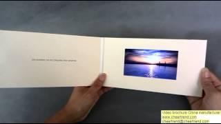 4 3 inch video wedding brochure -- http://www.cheertrend.com