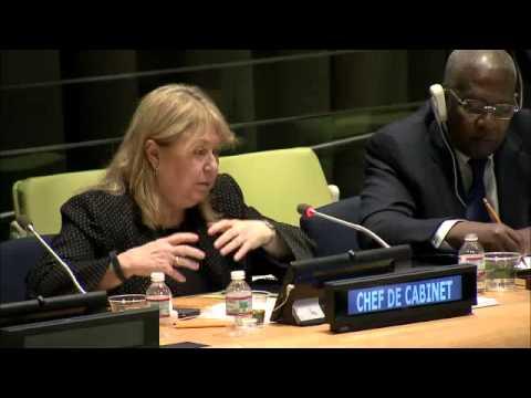 Susana Malcorra (Chef de Cabinet), Briefing on the Ebola virus outbreak