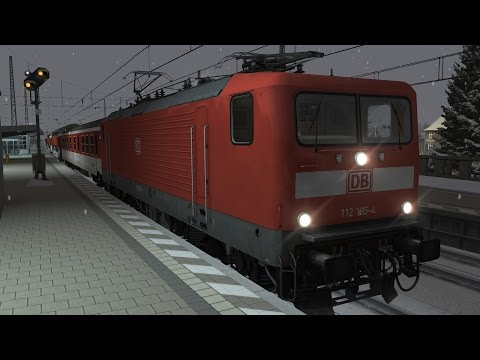 LET`S PLAY Train Simulator 2016   UEx1984 - Der UrlaubsExpress