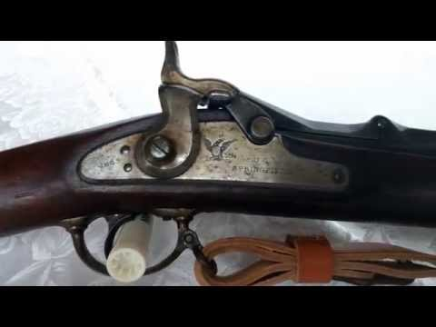Springfield Model 1868 Trapdoor Rifle overview & firing