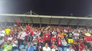 رد فعل جماهير تونس وجماهير الزمالك لحظة دخول فرجاني ساسي .. كأس أمم أفريقيا