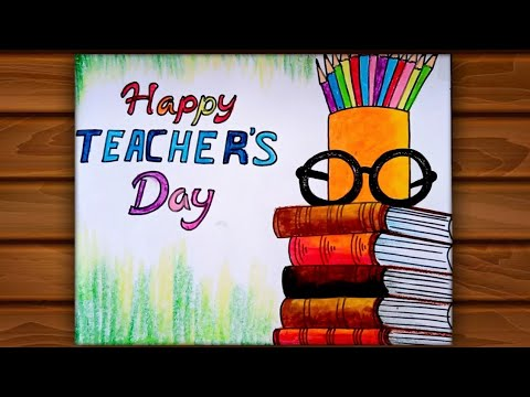 Teacher's day drawing/ Teacher's day card drawing very easy for begginers / Teachers day 2020