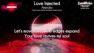 "Aminata - ""Love Injected"" (Latvia) - [Karaoke version]"