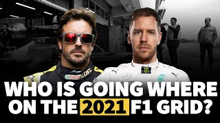 Who is going where on the 2021 F1 grid? | Crash.net
