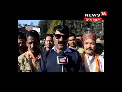 BJP Candidate from Manali looses temper and turns vulgar on Congress Very Senior Official  Himachal