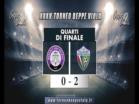 XXXV Beppe Viola, Quarti di finale: Villalba - Boreale 2 - 0