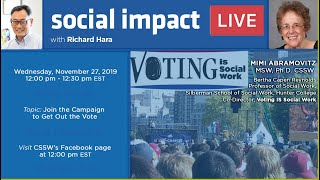 Social Impact LIVE: Join the Campaign to Get Out the Vote