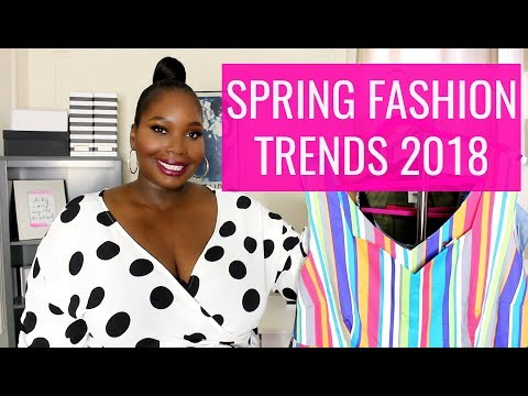 Must Have Spring Fashion Trends 2018/Plus Size Try on Haul