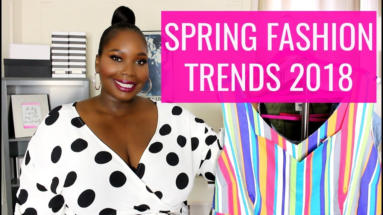 ae1fe686090 Must Have Spring Fashion Trends 2018 Plus Size Try on Haul - YouTube