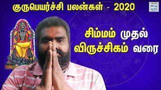 guru-peyarchi-palangal-2020-simmam-to-viruchigam-tamil-raasi-palangal-hindu-tamil-thisai