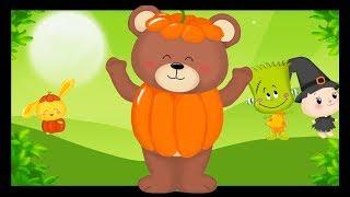 Tête, épaules, genoux et pieds - Comptines et chansons d'Halloween pour bébé Titounis